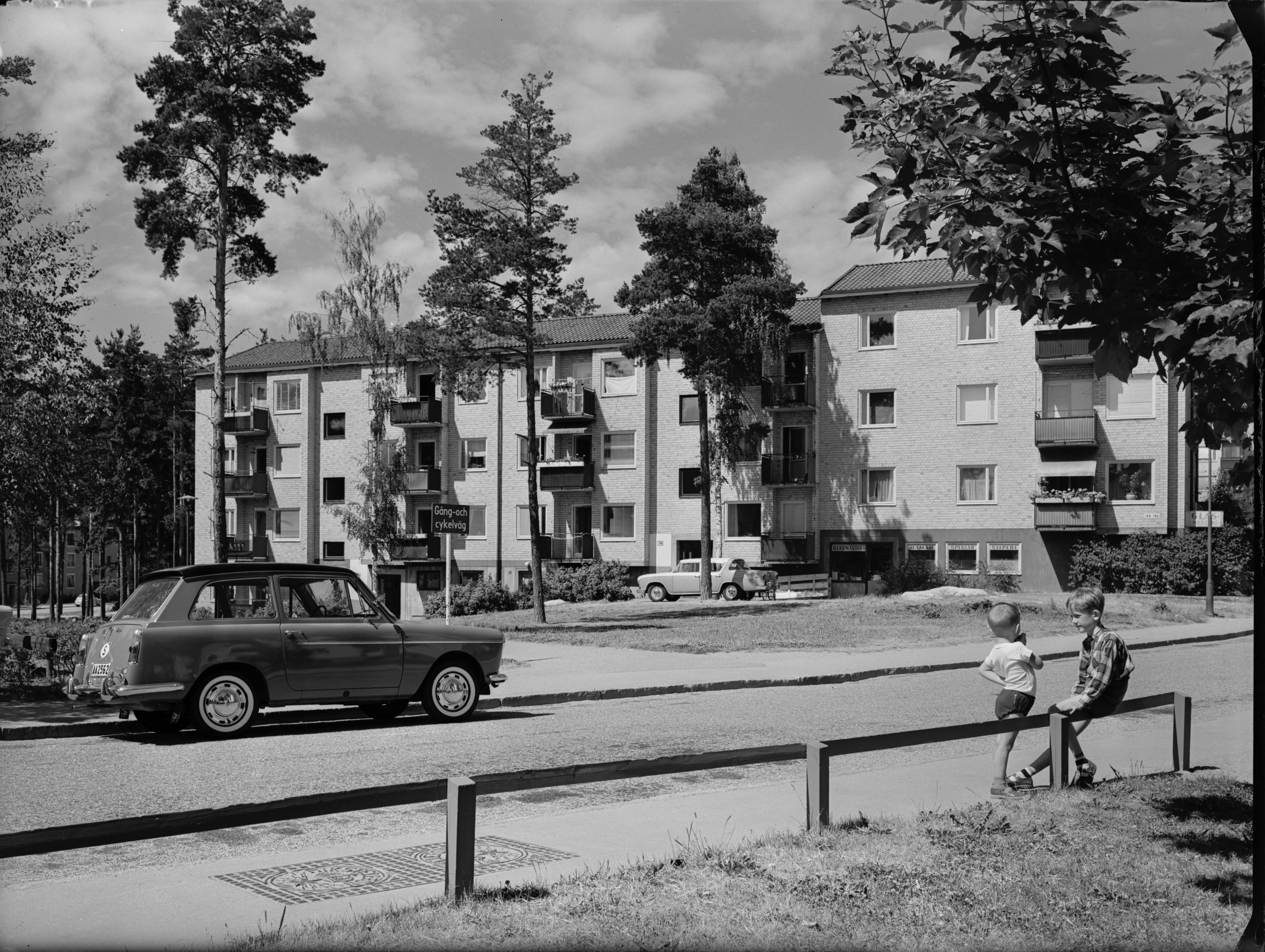 Blackeberg, Bostadshus, 1959